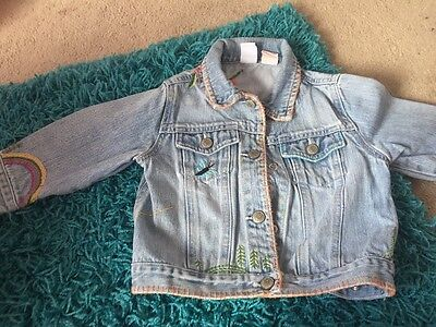 Baby Gap Denim Jacket Age 12-24 months girls