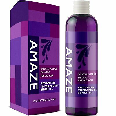 Shampoo for Oily Hair & Itchy Scalp - 8 Oz | Purifying Treatment | 100% NATURAL