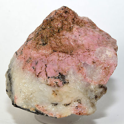 305g Natural Pink RHODOCHROSITE Rough Gemstone Crystal Cluster Mineral from Peru