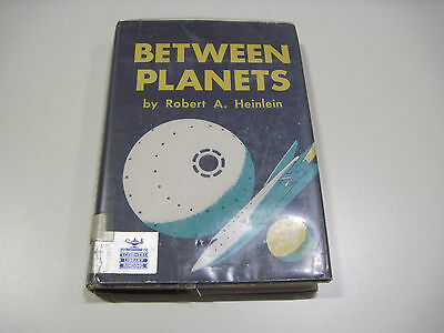 Between The Planets Heinlein 1951 1st Edition Ex Library edition