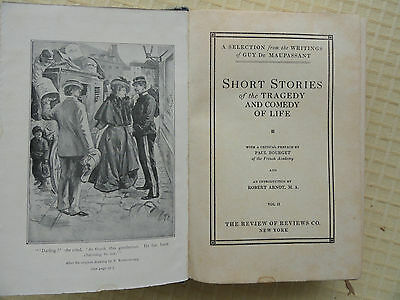 Short Stories of the Tragedy and Comedy of Life  Guy De Maupassent