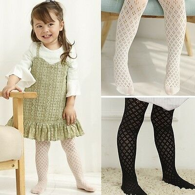 Baby Toddler Tights Cotton Knitted Trousers Pantyhose Socks Anti Slip Leg Warmer