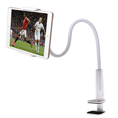 Zilong Soporte Flexible para Tablet Movil E-readers 360 Grados Rotacin Cabecera