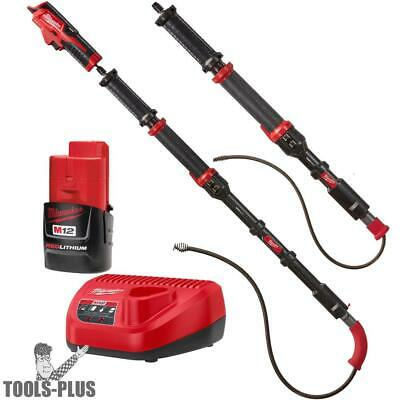 M12 TRAPSNAKE 2 Tool Auger Combo Kit Milwaukee 2577-21 New