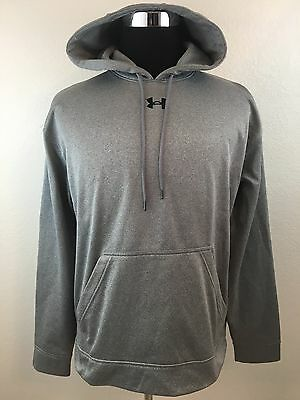 Under Armour Men's Long Sleeve Gray Hoodie Size Medium