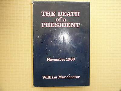 The Death of a President November 1963 by William Manchester  No Reserve