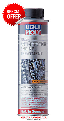 LIQUI MOLY MOS2 Anti-Fricition Engine Treatment (LM2009) - 300ml