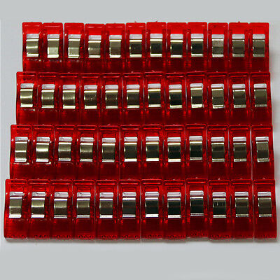 Pack of 50 Wonder ClipS For Fabric Quilting Craft Sewing Knitting Crochet DIY