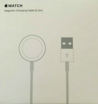 Apple Watch Magnetic Charging Cable Genuine MLLA2AM/A 0.3m, 1ft mini travel NIB