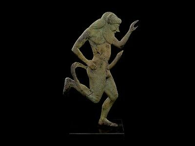 Bronze Statue of Satyr - Museum Quality Item - Ancient Greek Mythology - Satiros