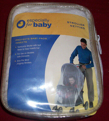New In Package Especially For Baby Stroller Netting Cover Protects Baby