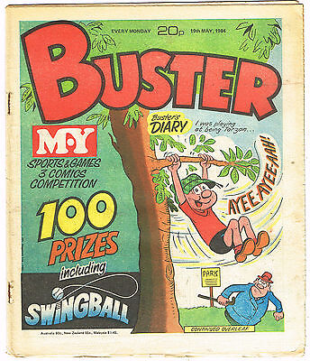 Buster Comic 19th May 1984 complete, NO MISSING PAGES!