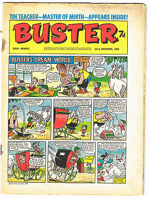 Buster comic 22nd November 1969 almost 50 years old