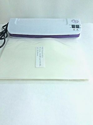 "Purple Cows Hot & Cold Laminator 9"" 3016C and kit"