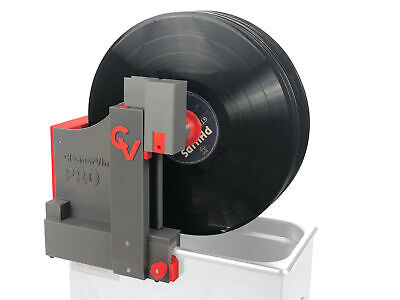 CleanerVinyl Pro Expert Kit: Ultrasonic Vinyl Record Cleaner w Drying Fan