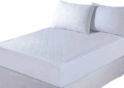EXTRA DEEP 40CM DEEP QUILTED MATTRESS PROTECTOR BED COVER ANTI ALLERGY All SIZES