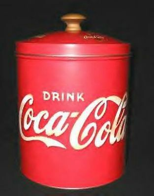 Coca Cola Cookie Jar or Cannister It is Tin and New