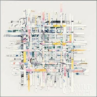 Mike Envoyer: Neuf MORNING Toile sur Cadre Toile ABSTRAIT MODERNE COMPOSITION