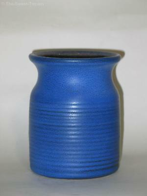 Tall Ribbed Vase by Eric Juckert. Australian Studio Pottery