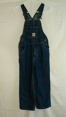 Carhartt Overalls Kids Size 6 Gently Used Condition