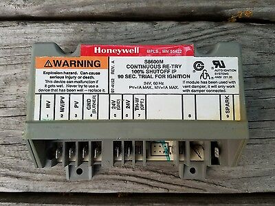 OEM Honeywell S8600M Ignition Control Module Board HVAC
