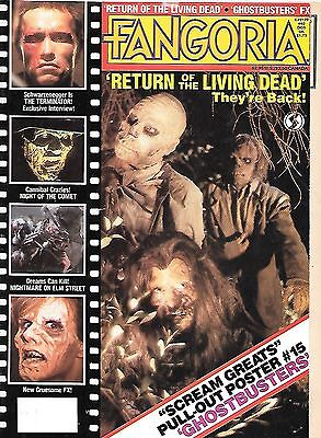 Fangoria #40 (1985, 70 pages, part colour) good as new - very rare issue