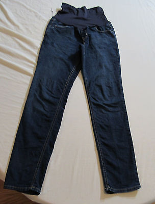 Old Navy Skinny Stretch Full Panel Maternity Blue Jeans Size 10 : 7311