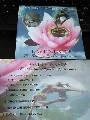 Pavlov's Dog DAVID SURKAMP CD - Dancing On The Edge Of A Teacup  2007  PROG ROCK