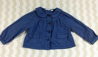 Country Road Girls Light Jacket Shirt Size 18-24 Months