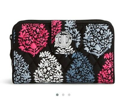 NEW Vera Bradley Turn Lock Wallet in Northern Lights.  Retail $49 Fast Shipping