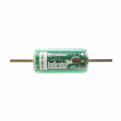 Littlefuse Jtd-200-Id Jtd Series Indicator Power-Pro Time-Delay Fuse, 600V 200A