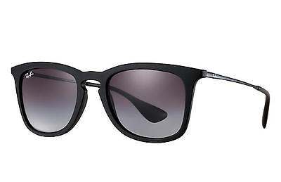 Ray Ban HighStreet RB4221 Black Frame Grey Gradient Lens Sunglasses 50mm