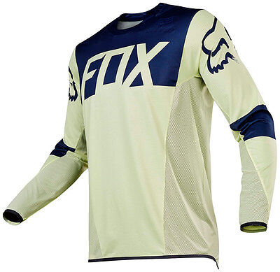 Fox 16 Flexair Libra LE MX Jersey Navy Yellow Motorcorss RRP $99