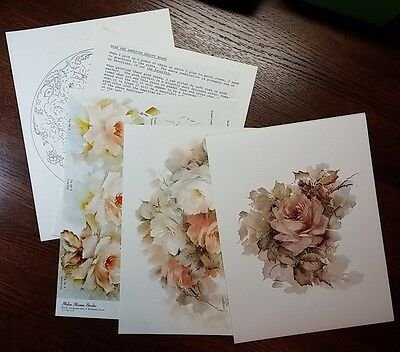 Roses, Roses, Roses -  Helen Humes seminar notes on 8 colors of Roses