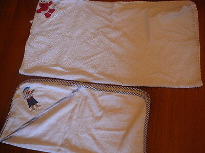 baby bath towels - very good condition