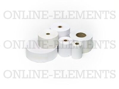 300 THERMAL CASH REGISTER / EFTPOS /RECEIPT ROLLS 57x34mm - FITS ALL EFTPOS M/C