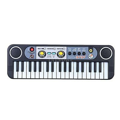 37 Keys Mini Electronic Keyboard with Microphone for Beginners Music Toy S8V9