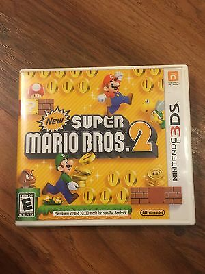 New Super Mario Bros. 2 - Nintendo 3DS video game REPLACEMENT CASE+MANUAL ONLY