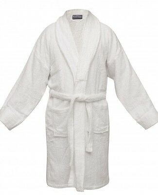 NEW 100% Egyptian Cotton 500GSM  Thick Terry Towelling Unisex Bath Robe