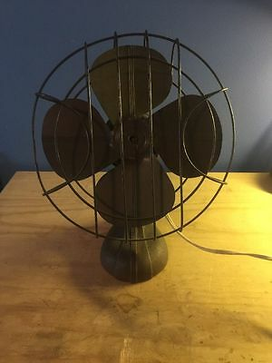 Vintage Antique Table / Desk Fan - Works Great