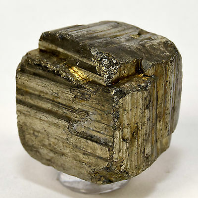 80g Natural Golden Pyrite Cube Rough Crystal Geode Cluster Mineral Stone - China