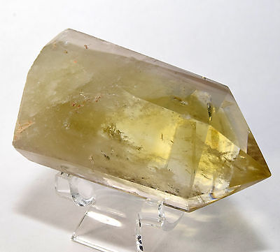 "3.1"" 160g Yellow Citrine Point Sparkling Crystal Quartz Gemstone Mineral - China"