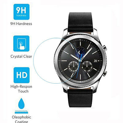 9H Tempered Glass Screen Protector for Samsung Galaxy Gear S3 Classic Frontier
