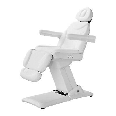 White Electric Beauty Therapy Table Spa Relax Bed Massage Couch Tattoo Chair New