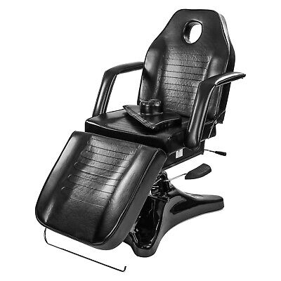 Black Beauty Therapy Table Spa Relax Bed Massage Couch Pedicure Tattoo Chair New