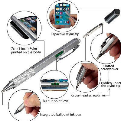 6 In 1 Multifunctional Touch Screen Tool Stylus Pen With Screwdriver Tool GW