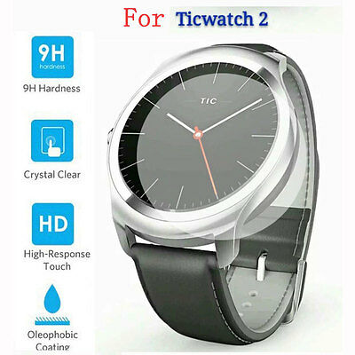 Premium 9H Tempered Glass Screen Protector for Tic Ticwatch 2 2nd generation