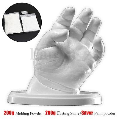 3D Molding Casting Kit DIY Baby Hand Footand Casting Powder + Paint Powder Safe