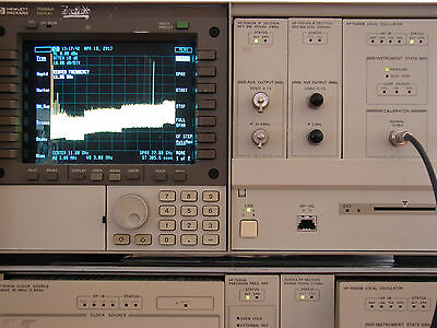 HP 70900B Local Oscillator with Opt. 512