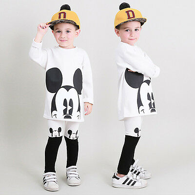 Kids Disney Character Cotton Lounge Wear set Genius Clothes Made in Korea